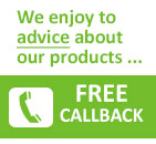 Callback Service - we are happy to advise you..